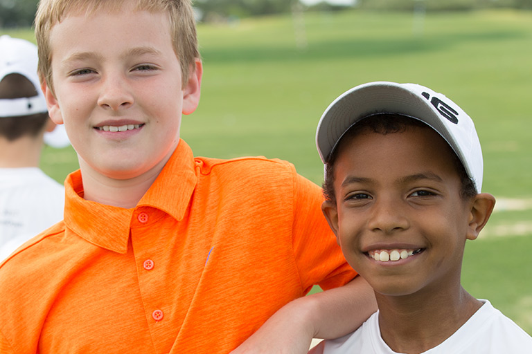Children's Golf Clinic sponsored by The Kolitz Family Foundation